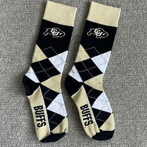 Colorado University Buffaloes Men's Socks
